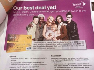 Sprint will pay rivals' termination fees when you sign up for a Framily plan