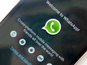 Having issues with WhatsApp? Make sure you have the latest version