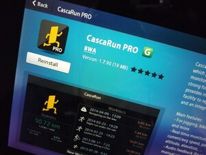 CascaRun Sports Tracker Pro hits the BlackBerry PlayBook