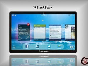 From the forums: The BlackBerry PlayBook 10 concept and this one looks a real beauty