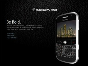 The BlackBerry Bold 9000 is *officially* unveiled at WES 2008!