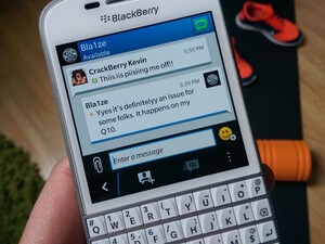 Do you suffer from the 'double typing issue' on the BlackBerry Q10?