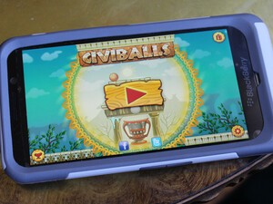 Travel through time and solve puzzles with Civiballs