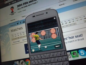 Get into the spirit of things with Football World Real Brazil Cup for BlackBerry 10