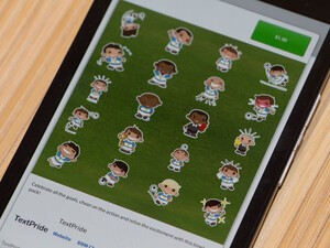 Get in the World Cup spirit with these BBM sticker packs