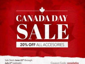 CrackBerry Canada Day Sale - Save 20% on All BlackBerry Accessories!