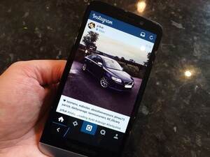 How to get Instagram on your BlackBerry Z3