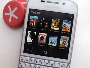 BlackBerry World has some pretty awesome movies on sale at silly prices