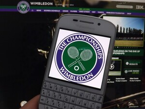 It's Wimbledon time. We check out the best tennis games for BlackBerry 10