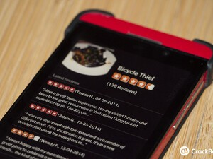 BlackBerry taps into Yelp to offer reviews through BlackBerry Maps