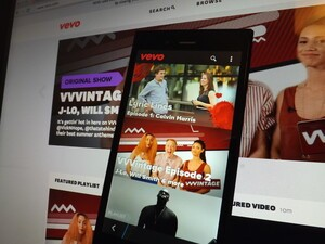 Love music videos? Get VEVO UK on your BlackBerry 10 device