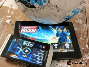 Still have football fever? Check out Training with Messi