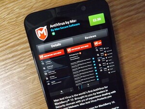 Max Secure release AntiVirus - a new budget scanner for BlackBerry 10