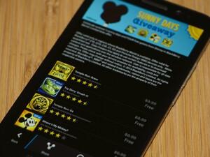 Disney offering four free games in BlackBerry World