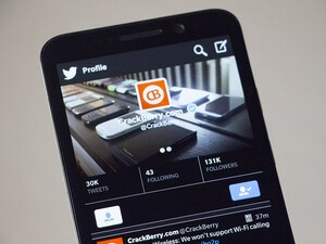 Twitter for BlackBerry 10 updated with new features