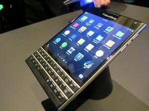 BlackBerry Passport now available from Selfridges for £529