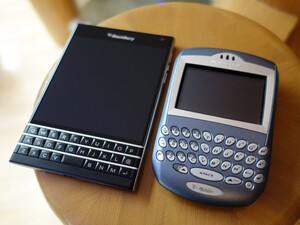 The good 'ol days of being a BlackBerry user... are back!