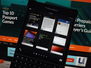 How to rearrange Active Frames with BlackBerry 10.3