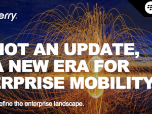 BlackBerry hosting Enterprise event on November 13th