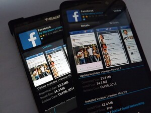 Facebook for BlackBerry 10 gets updated in BlackBerry World