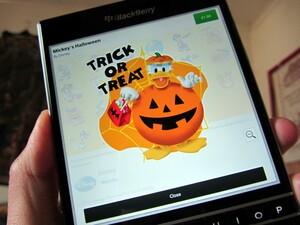 BBM with Mickey's Halloween BBM Sticker Pack