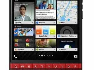 Amazon shipments of the red BlackBerry Passport have begun