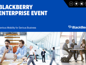 BlackBerry for Enterprise and Investor Day live blog!