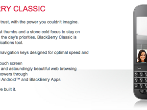 Rogers now taking preorders for the BlackBerry Classic