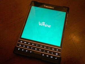 Whine gets updated for BlackBerry 10 - Enhancements galore