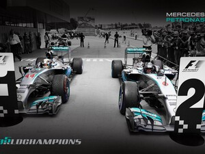 MERCEDES AMG PETRONAS Formula One Team ends 2014 season
