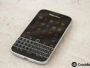 Here's the latest BlackBerry Classic winner