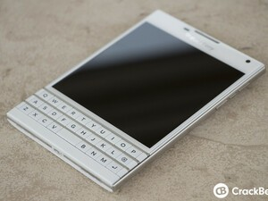 Pick up the white BlackBerry Passport in the UK SIM free