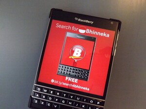 Search for Bhinneka now on BlackBerry 10