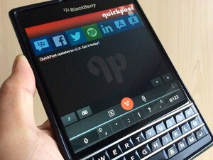 QuickPost 2.0 releases in BlackBerry World