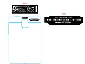 AT&T BlackBerry Passport passes through the FCC