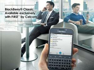 Celcom BlackBerry Classic