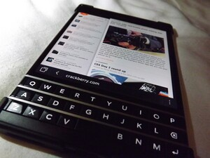 BlackBerry Passport scrolling poll results