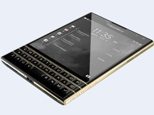 Gold BlackBerry Passport