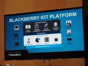 BlackBerry extends its security focus to the IoT