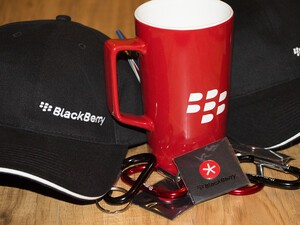 Want to win some BlackBerry goodies?