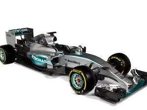 MERCEDES AMG PETRONAS F1 Team unveils the new W06 Hybrid