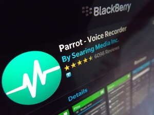 Parrot - Voice Recorder gets a huge update for BlackBerry 10.3.1