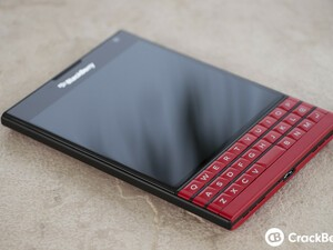 Red BlackBerry Passport now available in UAE & KSA