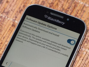 How to disable automatic OS updates on BlackBerry 10