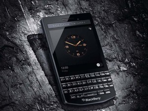BlackBerry introduces the Porsche Design P'9983 Graphite