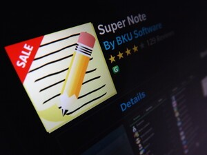 Super Note gets updated