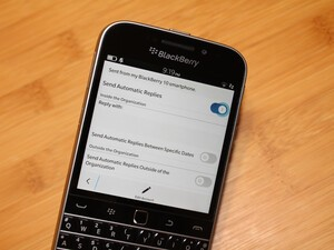 How to enable out-of-office messages on OS 10.3.1