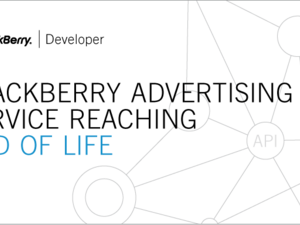 BlackBerry Advertising Service shutting down June 16