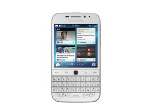 White BlackBerry Classic now available on Amazon UK