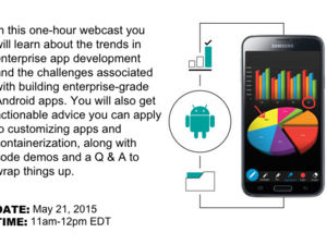 Building Secure Android Apps for the Enterprise webcast